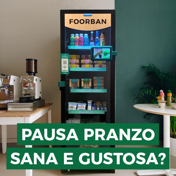 foorban - box brand - pausa pranzo - verde